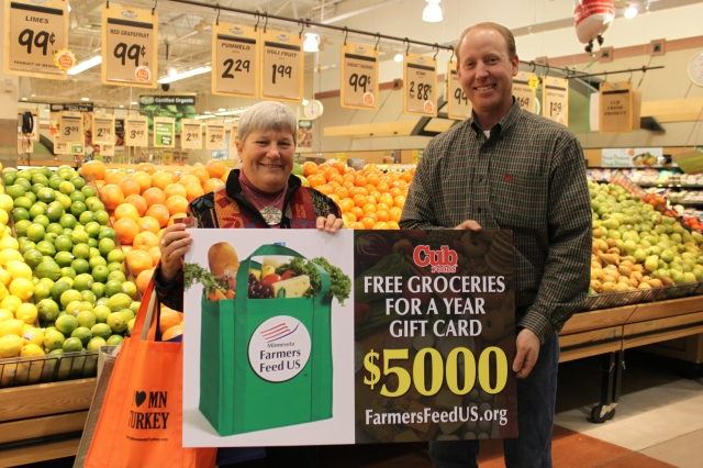 12-12-11 Bryan Lawrence with FFUS Phase III Grand Prize Winner
