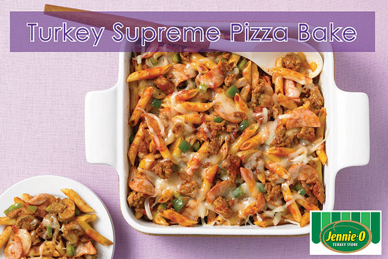 Turkey Supreme Pizza Bake