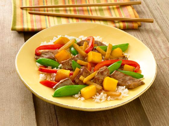 vege-mango-beef-stir-fry