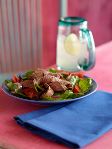 Sirloin Steak Salad from MN Beef