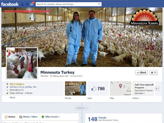 MN Turkey on Facebook!