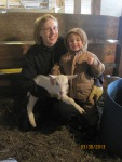 Visiting Grandma and Grandpa's farm - by Megan