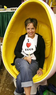 Egg Chair at the MN State Fair