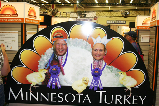 MN Turkey Cut-Out at State Fair