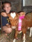 Ribbon won at the Wright County Fair. - by Amy K.