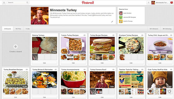 Minnesota Turkey on Pinterest