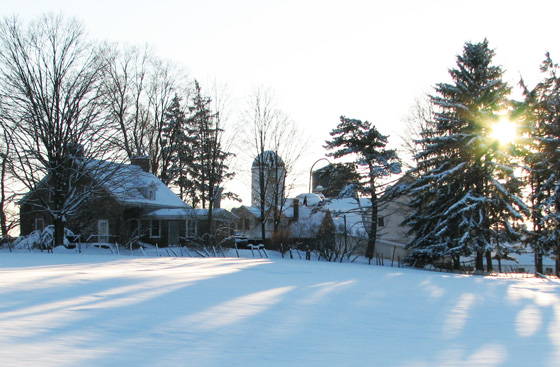 Farm in the Winter