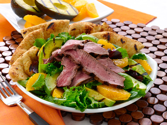 Cali-Avocado Steak Salad