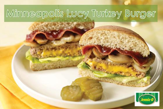 Mpls Lucy Turkey Burger